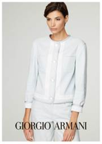 Prospectus BOUTIQUE GIORGIO ARMANI PARIS 1ER : Women's Outerwear