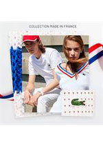 Prospectus Lacoste : Collection made in France