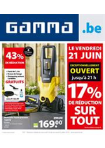 Promos et remises GAMMA : Gamma depliant