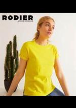 Prospectus rodier : Pulls Femme