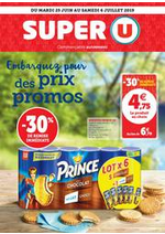 Prospectus Super U : EMBARQUEZ POUR DES PRIX PROMOS