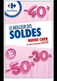 Prospectus Carrefour GENNEVILLIERS : LE MEILLEUR DES SOLDES MOINS CHER