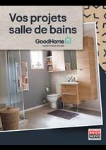 Prospectus Brico Dépôt : Vos projets salle de bains