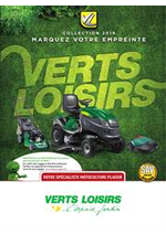Prospectus Verts Loisirs : Collection 2019