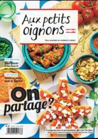 Prospectus Carrefour CHARENTON LE PONT : Aux Petits Oignons Juillet/Aout