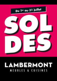 Promos et remises Meubles Lambermont  : Soldes