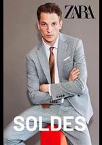 Prospectus ZARA : Soldes Homme