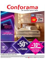 Promos et remises Conforama : Catalogue Conforama