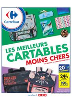 Prospectus Carrefour : Cartables