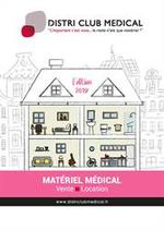 Prospectus Distri Club Medical : Catalogue 2019 pour les Particuliers