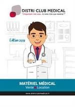 Prospectus Distri Club Medical : Catalogue 2019 pour les Professionnels