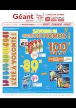 Promos et remises Géant Casino : Savourez l'été, profitez des promos !