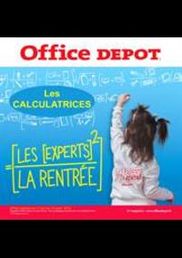 Prospectus Office DEPOT : Office Depot, l'expert de la rentrée! et profitez du service de preparation de liste scolaire en magasin gratuitement.