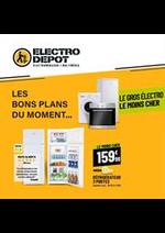 Prospectus ELECTRO DEPOT : PLANS DU MOMENT...