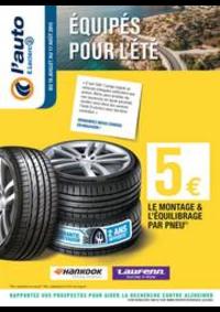 Prospectus L'auto E.Leclerc BOIS D'ARCY : ÉQUIPÉS POUR L'ÉTÉ