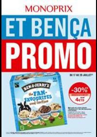 Prospectus Monoprix THONON LES BAINS : Et bença promo