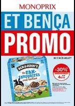 Prospectus Monoprix : Et bença promo