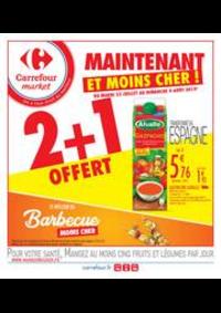 Prospectus Carrefour Market TREMBLAY EN FRANCE : Maintenant et moins cher