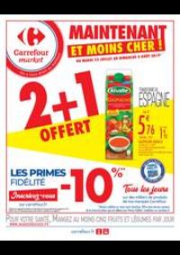 Prospectus Carrefour Market MASSY : Maintenant et moins cher