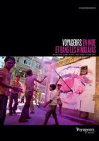 Prospectus Voyageurs du monde Paris : Voyageurs en Inde