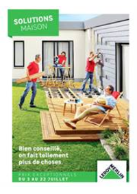 Prospectus Leroy Merlin Montigny-les-Cormeilles : Solutions Maison
