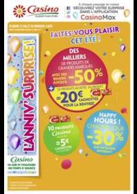 Prospectus Supermarchés Casino Le Blanc-Mesnil : Faites-vous plaisir cet été !
