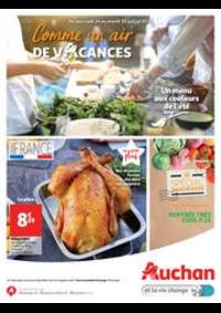 Prospectus Auchan Val d'Europe Marne-la-Vallée : Comme un air de vacances