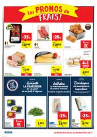 Prospectus Carrefour Market MESTDAGH - NANINNE : folder Carrefour Market