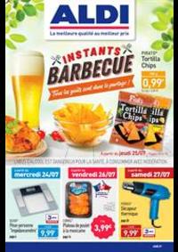 Prospectus Aldi Epinay-sur-Seine : Instants Barbecue