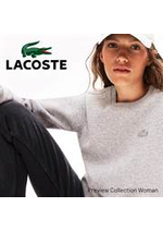 Prospectus Lacoste : Preview Collection Woman