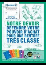 Promos et remises  : Catalogue E.Leclerc