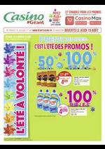 Promos et remises Géant Casino : Catalogue Géant Casino