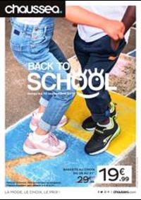 Prospectus Chaussea : Back to School