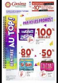 Prospectus Supermarchés Casino BAGNEUX : Catalogue Casino Supermarchés