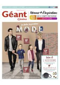 Prospectus Géant Casino BOISSY SAINT LÉGER : Les belles inspirations mode