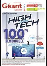 Promos et remises Géant Casino : La selec' High Tech