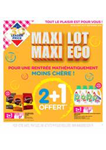 Promos et remises Leader Price : Maxi Lot Maxi Eco