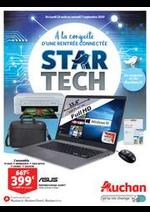 Bons Plans Auchan drive : Star Tech