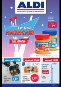 Prospectus Aldi Asnières-sur-Seine : Le réve Americain