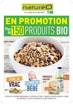 Prospectus NaturéO : En promotion plus de 150 produits BIO