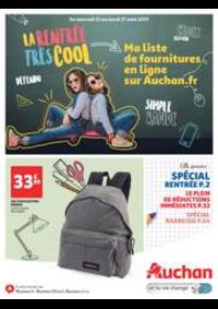 Prospectus Auchan Vélizy : La rentrée très cool