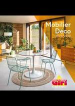 Prospectus Gifi : Mobilier Déco 2019/2020