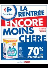 Promos et remises Carrefour MONT-DE-MARSAN : La rentrée encore moins cher !
