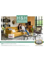 Prospectus H&H : Les beaux Canapés