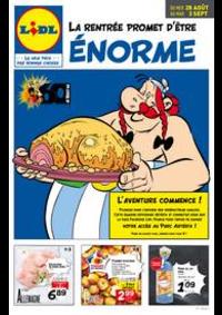 Prospectus Lidl EAUBONNE : Du 28/08 au 03/09