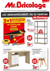 Prospectus Mr. Bricolage BRAINE L'ALLEUD Mont Saint Jean : Decouvrez nos dernieres offres !