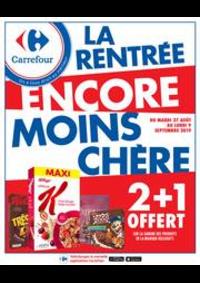 Promos et remises Carrefour Paris - Auteuil : LA RENTRÉE ENCORE MOINS CHÈRE
