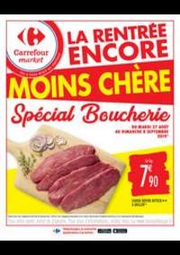 Promos et remises Carrefour Market CHARTRETTES : Spécial Boucherie