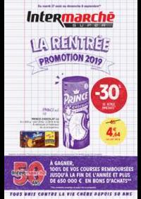 Promos et remises Intermarché Super Villeneuve le Roi : LA RENTREE PROMOTION 2019