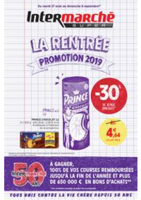 Promos et remises Intermarché Super Ris Orangis : LA RENTREE PROMOTION 2019
